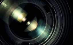 Lens. Close up lens macro shoot Royalty Free Stock Photography