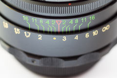 Lens. Close-up. Stock Image