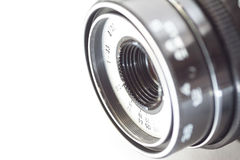 Lens. Close-up. Stock Images