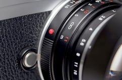 Lens closeup royaltyfri illustrationer
