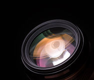 Lens colorful reflections Royalty Free Stock Photos