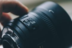 Lens For Dslr Cameras Royalty Free Stock Image