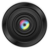 Lens eye Stock Photo
