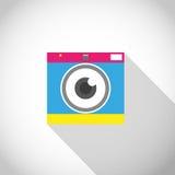 Lens eye camera royalty free illustration