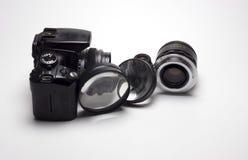 Lens för digital kamera Arkivbild