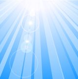 Lens flare. Royalty Free Stock Image