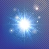 Lens flare royalty free stock photography