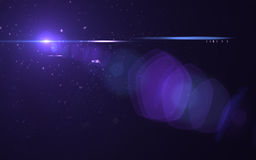 Lens flare effect. Made in 3d software Royalty Free Stock Image