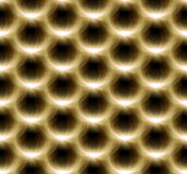 Lens Flare flower yellow pattern Royalty Free Stock Images