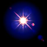 Lens flare Stock Images