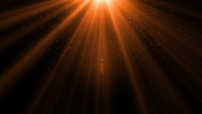 Lens Flare light over Black Background. Easy to add overlay. Or screen filter over photo Stock Images