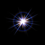 Lens Flare Star Burst Royalty Free Stock Image
