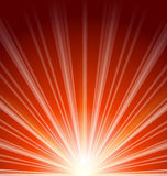 Lens flare with sunlight, abstract background Royalty Free Stock Images