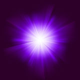 Lens flare vector background.  Stock Photos