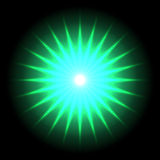 Lens flare vector background 33 Stock Photo