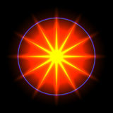 Lens flare vector background 12 Royalty Free Stock Photography