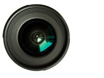 Lens. The front lens wide-angle lens Stock Image