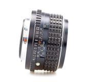 Lens, handlens Royalty-vrije Stock Afbeeldingen