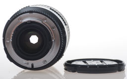 Lens and hood Royalty Free Stock Photos