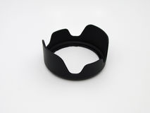 Lens hood isolation on a white background Royalty Free Stock Photography