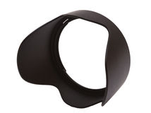 Lens Hood for. Lens hood on a white background Royalty Free Stock Photography