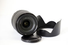 Lens with Hood Stock Images