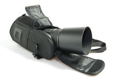 Lens hood with zomm Royalty Free Stock Photography