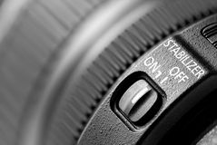Lens image stabilizer Royalty Free Stock Photo