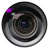 Lens on white background. Stock Image
