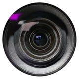 Lens on white background. Stock Image