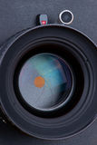 Lens for large format camera Royalty Free Stock Photo