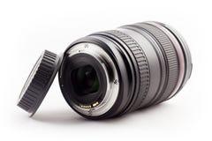 Lens and lens cap Stock Photos