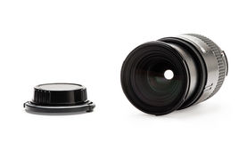 Lens and lens cup Royalty Free Stock Images