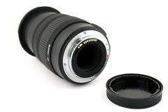 Lens and lense cup Royalty Free Stock Image