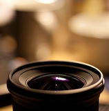 Lens and light Royalty Free Stock Images