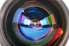 Lens  light effect Stock Photography