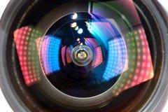 Lens  light effect Stock Photo