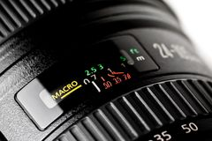 Lens macro function Royalty Free Stock Photography