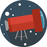 Lens, magnification, planetarium, magnify, spy, observe, glass, device, optical, instrument, space, icon, find, Stock Photo