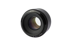 Lens 50mm/1 8 Royaltyfria Foton