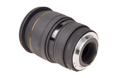 Lens of modern digital camera, rear view of lens Royalty Free Stock Images