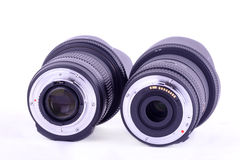 Lens mount Royalty Free Stock Images