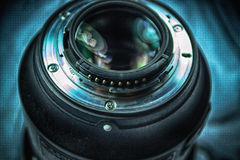 The Lens Mount Royalty Free Stock Image