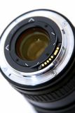 Lens. Objective for the camera. Stock Photos