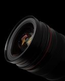 Lens of the photo on Royalty Free Stock Image