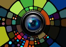 Lens, Photography, Colorful Royalty Free Stock Images