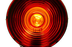Lens of Red light Royalty Free Stock Photography