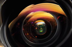 Lens reflection Royalty Free Stock Photography