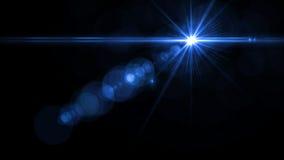 Lens signalljusljus över svart bakgrund Lätt att tillfoga samkopieringen Fotografering för Bildbyråer
