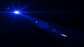 Lens signalljusljus över svart bakgrund Lätt att tillfoga samkopieringen Arkivbilder